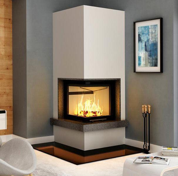 die besten 25 eckkamin ideen auf pinterest wohnzimmer kamin moderner kamin fen und moderne. Black Bedroom Furniture Sets. Home Design Ideas