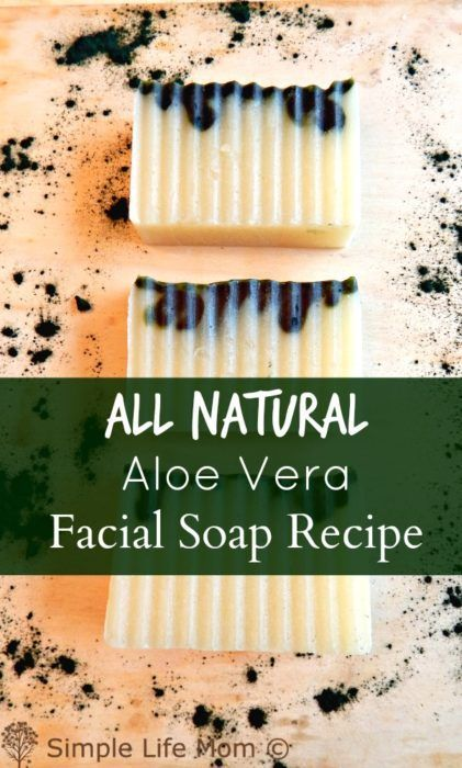 This Aloe Vera Facial Soap Recipe was specifically designed to be gentle on the face with natural ingredients, colorants and scents. A Cold Process Soap Recipe.