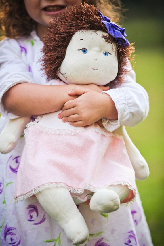 "SO CUTE!!! Baby Doll Pattern - Cloth 16""  Nanny Doll By Country Cottage Dolls PDF PATTERN $4.70"