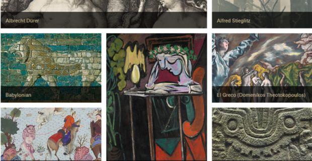 Σκέψεις: Οnline πρόσβαση σε 400 χιλιάδες έργα τέχνης