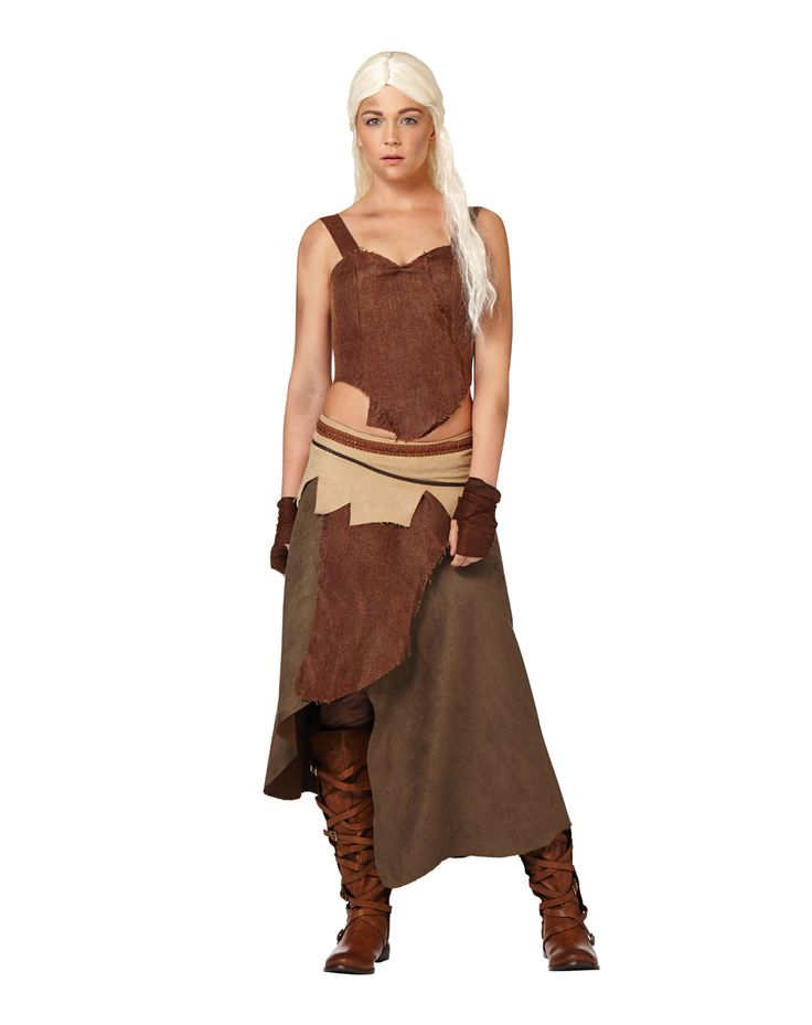Game of Thrones Daenerys Targaryen Dothraki Womens Costume ...
