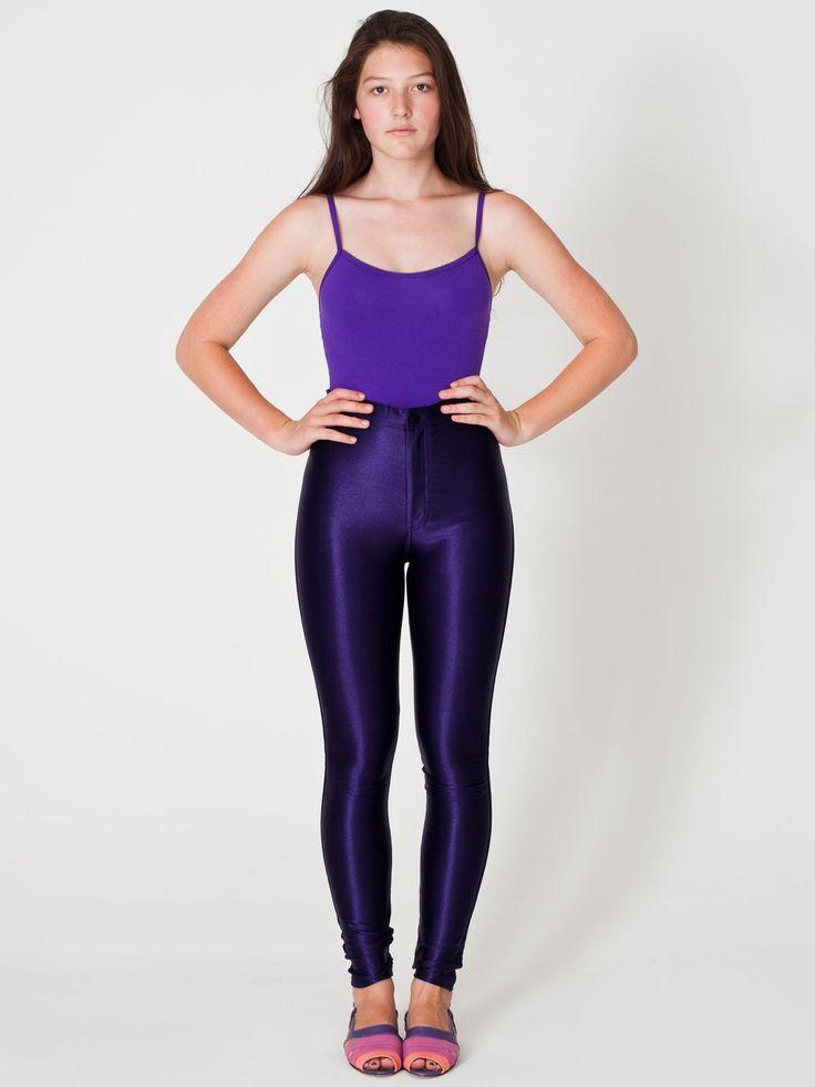 American Apparel - The Disco Pant ( Dark Purple ) $85.00 Size :L