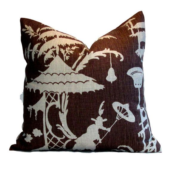 Kravet Pillow Cover Barbara Barry Indo by PillowsByDwellissimo