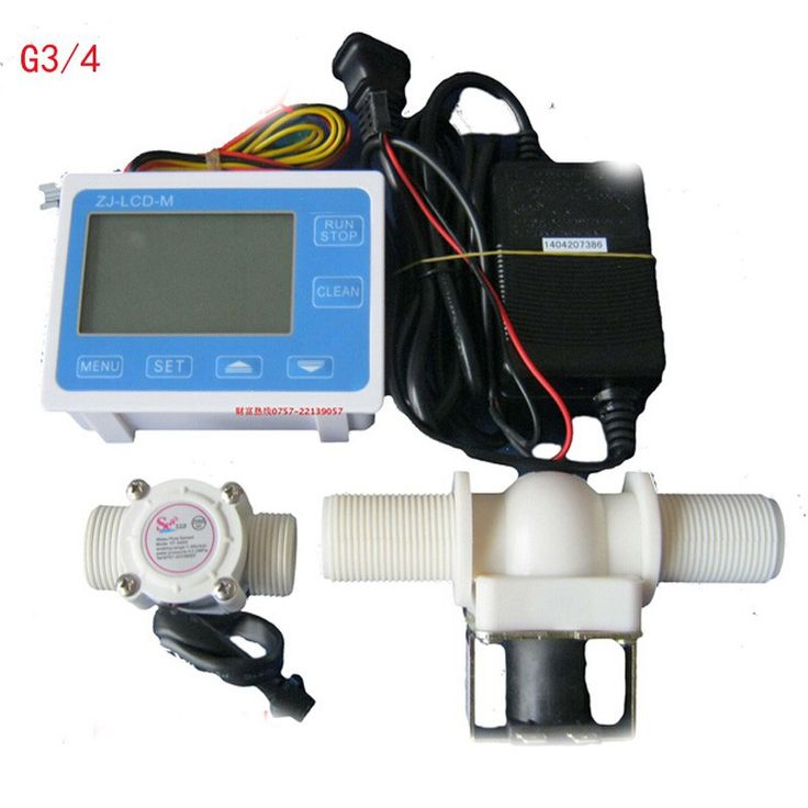 89.10$  Watch here - G3 / 4 Digital Flow meter Irrigation systems for the quantitative control device Filling Packing Machine turbine Flowmeter  #aliexpresschina