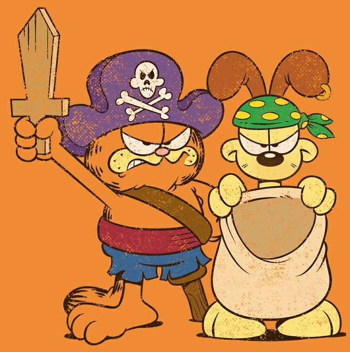 Garfield Halloween