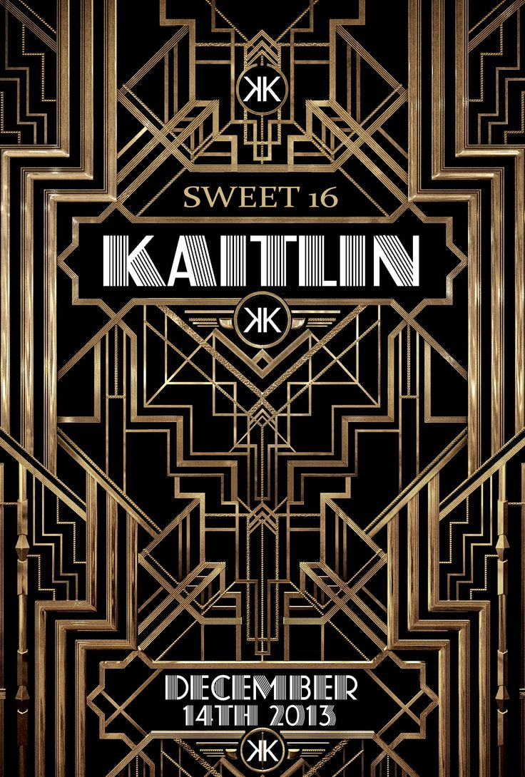 Art deco backdrop for photos wall decor party decoration 1920 s - Find This Pin And More On Kaitlin S Sweet 16 Gatsby Party