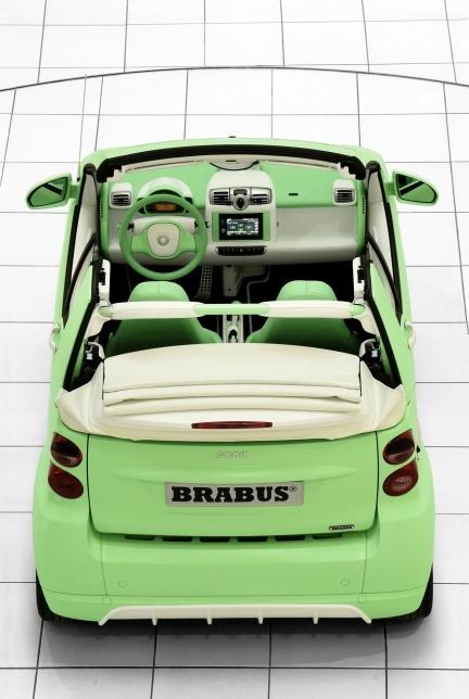Smart Fortwo eléctrico por Brabus.