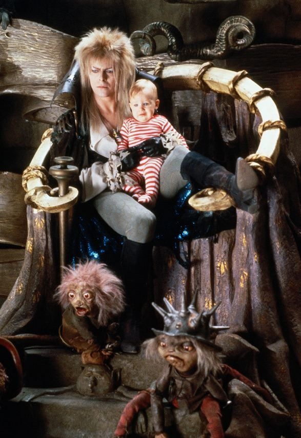 Remember the baby from Labyrinth? He's grown up and is a REAL Goblin King
