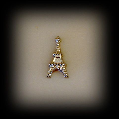 Eiffel Tower Floating Charm | Latest fashion jewellery from around the world