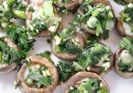 Brie stuffed mushrooms | Stuffed Mushrooms, Brie and Mushrooms