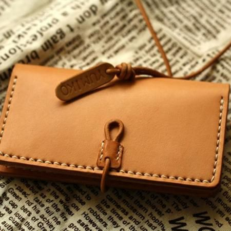 Leather cord loop closure
