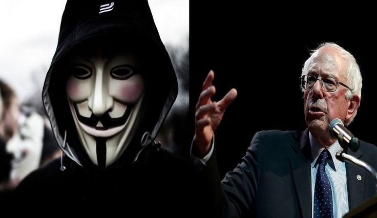 Anonymous Gives 10 Reasons For Backing Bernie Sanders, Speaks Against Donald Trump, Hillary Clinton