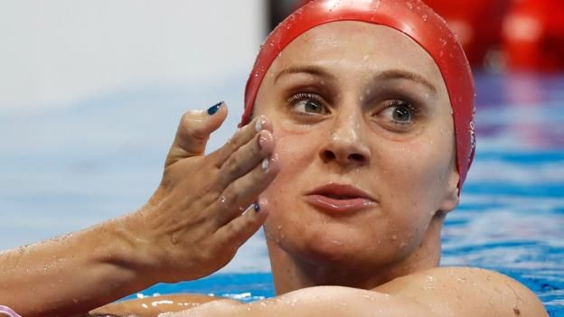 Jazz Carlin: Double Olympic medallist on cold water, post-Olympic blues and jellyfish      Double Olympic medallist Jazz Carlin set for 10km marathon bid and could challenge for up to four medals at the Tokyo 2020 Olympics. http://www.bbc.co.uk/sport/swimming/41520134