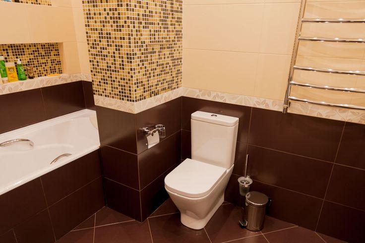 Ванная комната маленькая. Объединение в одно большое пространство.