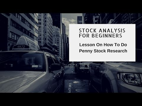 Stock Analysis For Beginners Doing Penny Stock Research - Penny Stock Lesson - http://www.pennystockegghead.onl/uncategorized/stock-analysis-for-beginners-doing-penny-stock-research-penny-stock-lesson/
