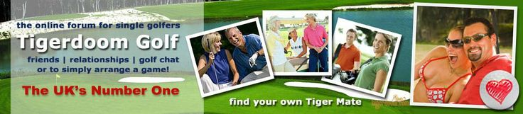 Easy to join Tigerdoom Golf UK, friend and partner finder portal.