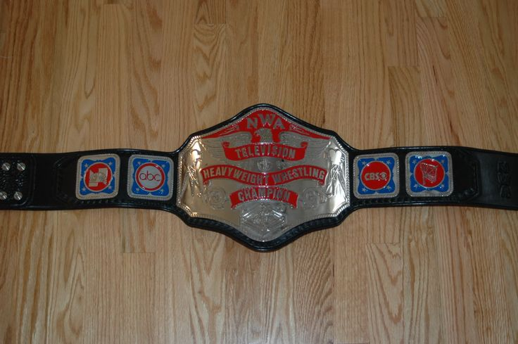 Arn Anderson's nickel and red Television Title.