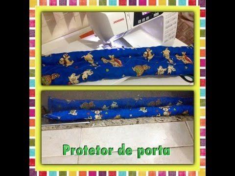 PROTETOR DE PORTA - YouTube