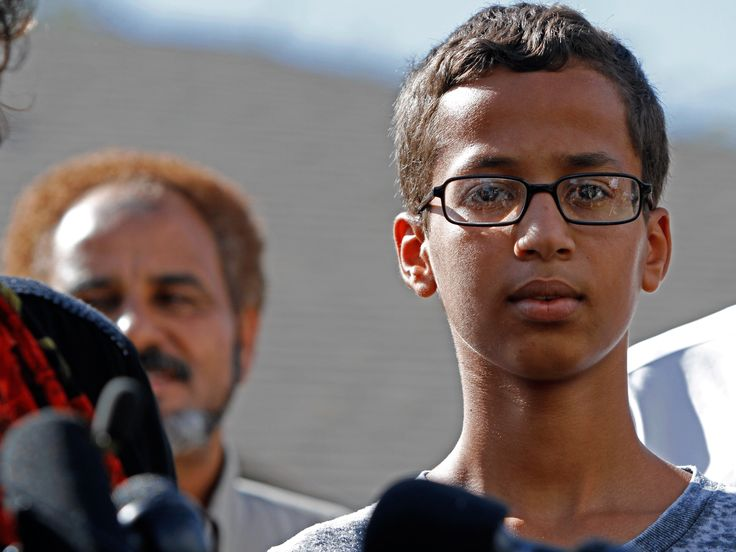 Ahmed Mohamed demands $15m compensation and written apology for homemade clock arrest Lawyers for the teenager's family said they will file a civil suit in 60 days if officials fail to comply 11.23.15 - The family of Ahmed Mohamed, the Texan schoolboy who was arrested after taking a homemade clock to school, has demanded $15m in compensation and written apologies from the local mayor and police chief.