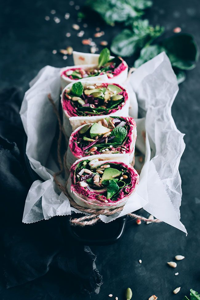 Rote Beete Wraps