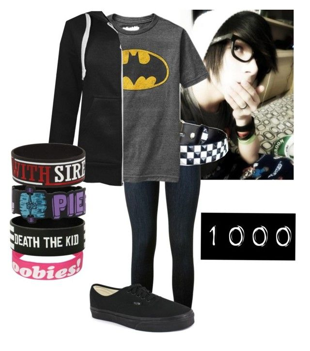 """""""1000"""" by deathpanda12 ❤ liked on Polyvore featuring Frame Denim, Old Navy, Vans, Keep A Breast, women's clothing, women's fashion, women, female, woman and misses"""