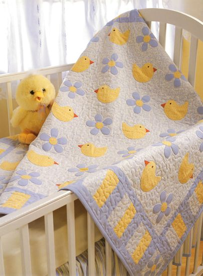 Baby quilt from Quilting with My Sister - by Teri Christopherson, Barbara Brandeburg