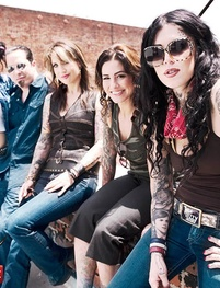 LA Ink is my favorite show. I miss this original crew! I may have a slight girl crush on Kim Saigh and Kat lol