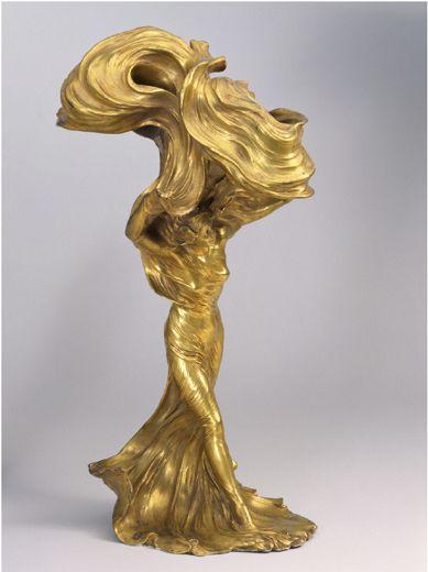 François-Raoul Larche - Decorative Artists - Artist Biographies - Macklowe Gallery...Beautiful Flowing Lines...Love It...