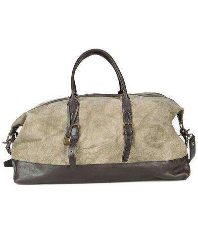 John Varvatos Collection Weekend Bag
