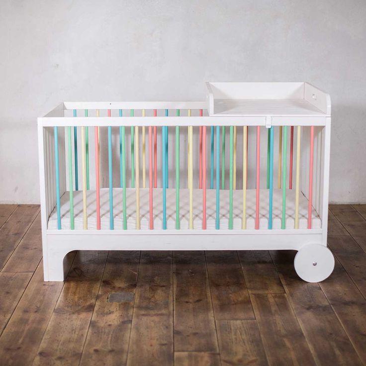 Kinderbett mitwachsend  Die besten 25+ Mitwachsendes kinderbett Ideen auf Pinterest | Baby ...