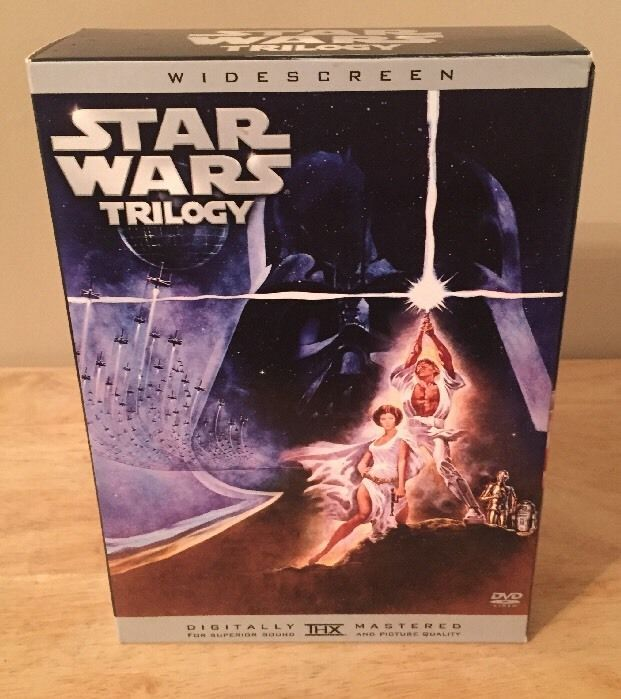 Star Wars Trilogy (DVD, 2005, 3-Disc Set, Widescreen Limited Edition)