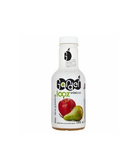 Garden 100%-os alma-körte gyümölcslé 500 ml - A körte nemcsak aromás, kellemes ízű gyümölcs, hanem kitűnő vértisztító és idegerősítő gyógynövény is. Jelentős mennyiségű ásványi anyagot (kálcium, magnézium, cink, vas, jód) és (A-, B1-, B2-, valamint C-vitamint) tartalmaz.
