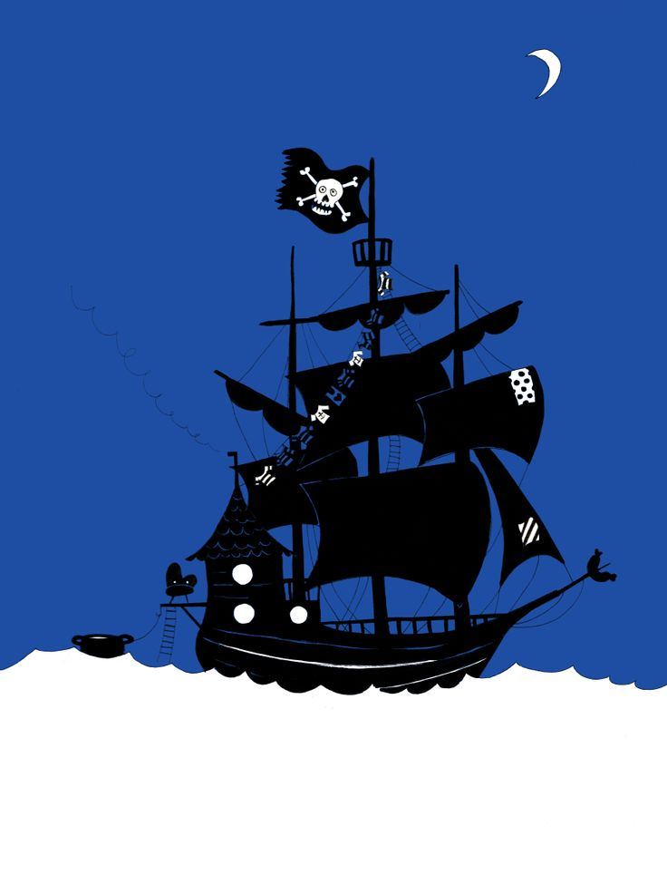 Pirates! Illustration by Maria Poll