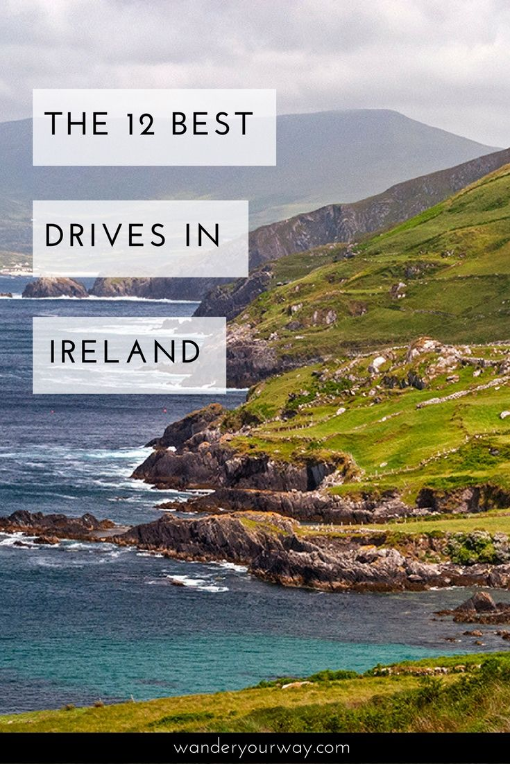 Ireland has some amazingly beautiful drives. It's really a stunning country. But with so many great drives which one is the best? Well I've put together a list of the 12 most scenic drives in Ireland. Click through to learn more.