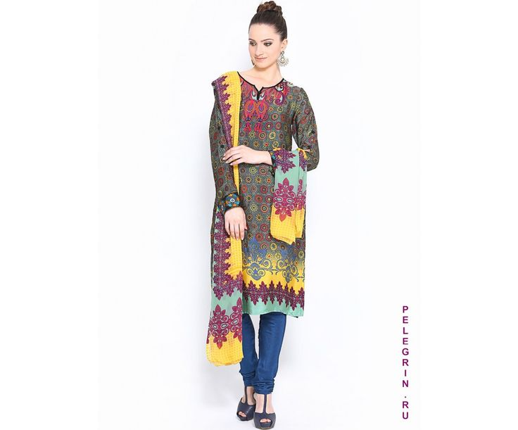 Чуридар-камиз Алиша - Артикул: 030665 - купить в интернет-магазине «Pelegrin»