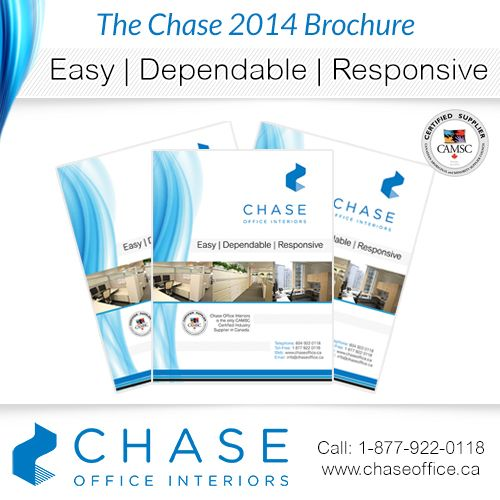 Chase Office Interiors will take care of everything so you don't have to! Call 1 877 922 0118