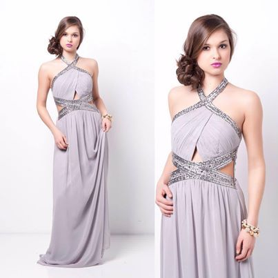 glam maxi dress #swoonboutique