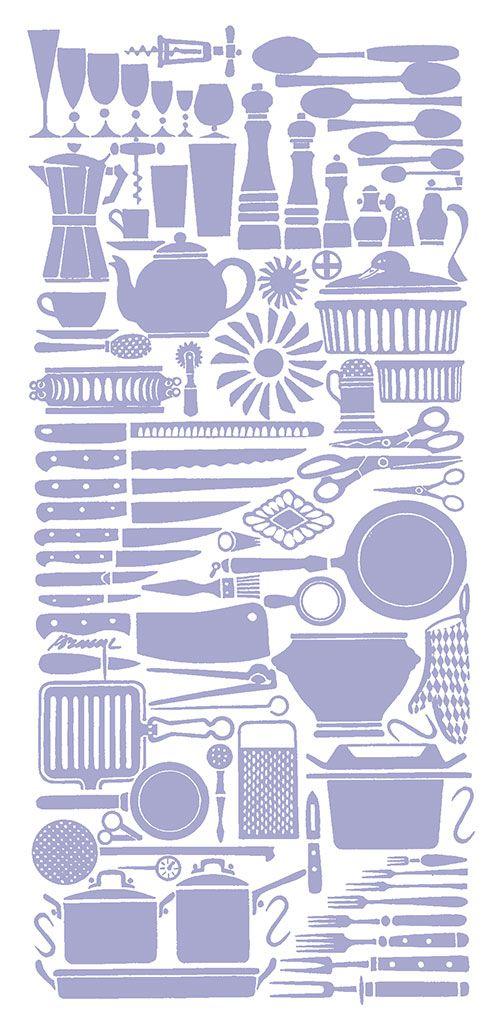 Kokkipuoti Brand Identity. Pattern design by Erik Bruun.