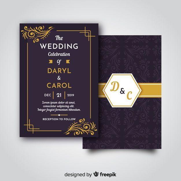 Download Retro Wedding Invitation Template For Free Retro Wedding Invitations Wedding Invitation Templates Customizable Wedding Invitations