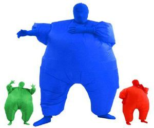 Inflatable Full Body Suit