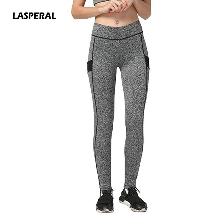 LASPERAL 2017 New Skinny Breathable Professional Running Fitness Women Sports Pants Ladies Gym Yoga Leggings Tights 5 Colors #Affiliate
