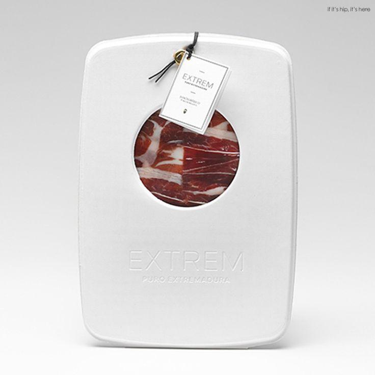 Sliced Ham, Extrem Puro Extremadura Packaging.