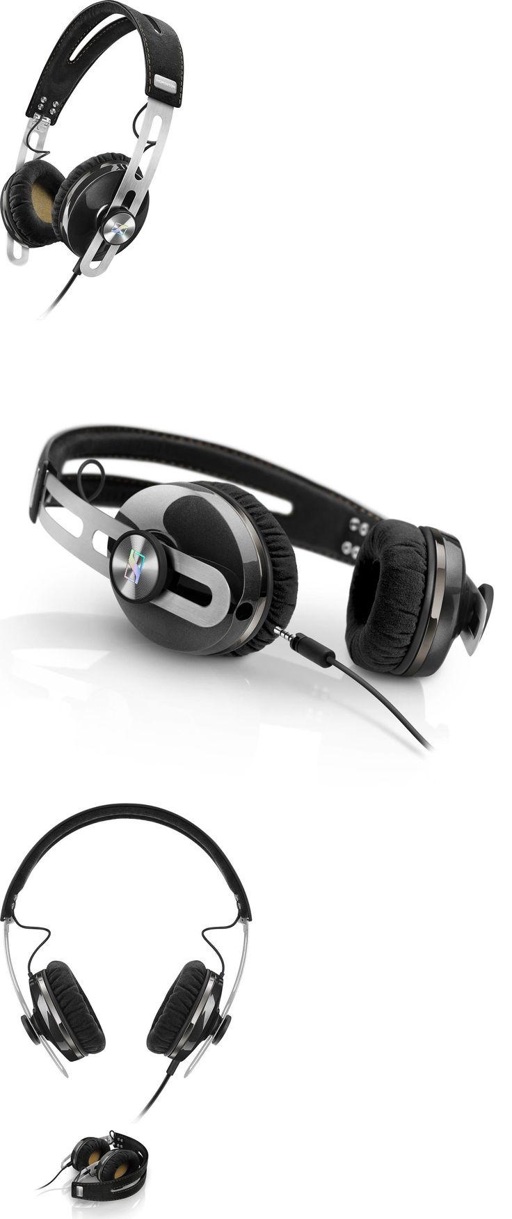 Headsets and Earpieces: Sennheiser Momentum 2.0 Oei On-Ear Supra Aural Stereo Headphones Black Apple -> BUY IT NOW ONLY: $149.99 on eBay!