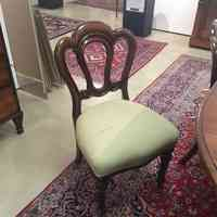 #NorthcliffAntiques A set of 8 mid Victorian mahogany admiralty balloon back chairs. #Johannesburg #Antiques #Chairs