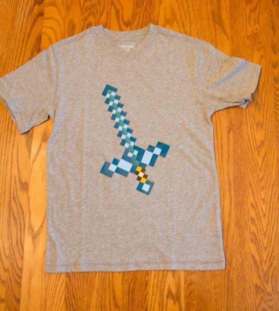 minecraft t-shirts by froglegstudios on Etsy