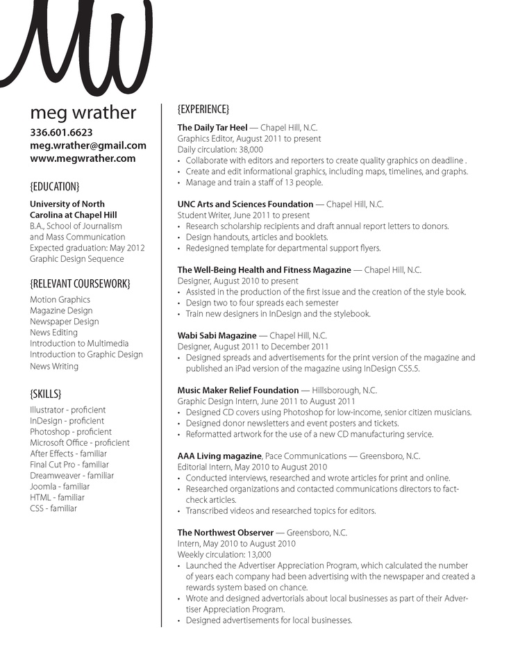 12 best Resumes images on Pinterest Graphic design resume, Job - proficient in microsoft office