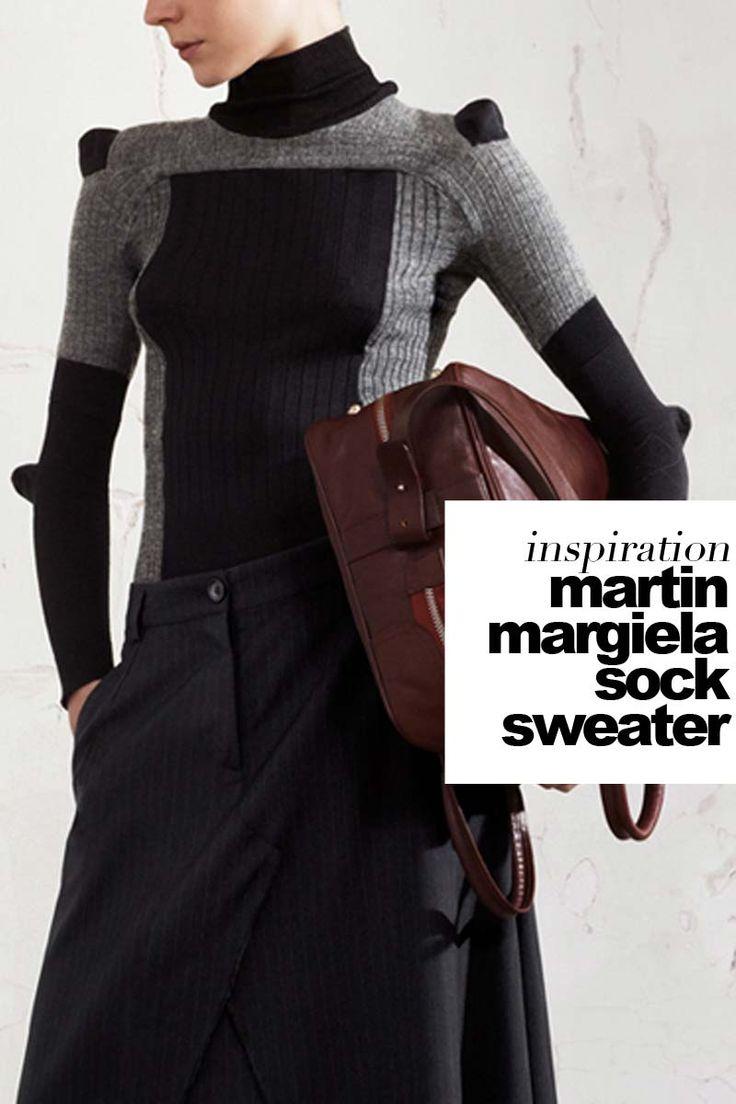 Outi Pyy / martin-margiela-sock-sweater-cover