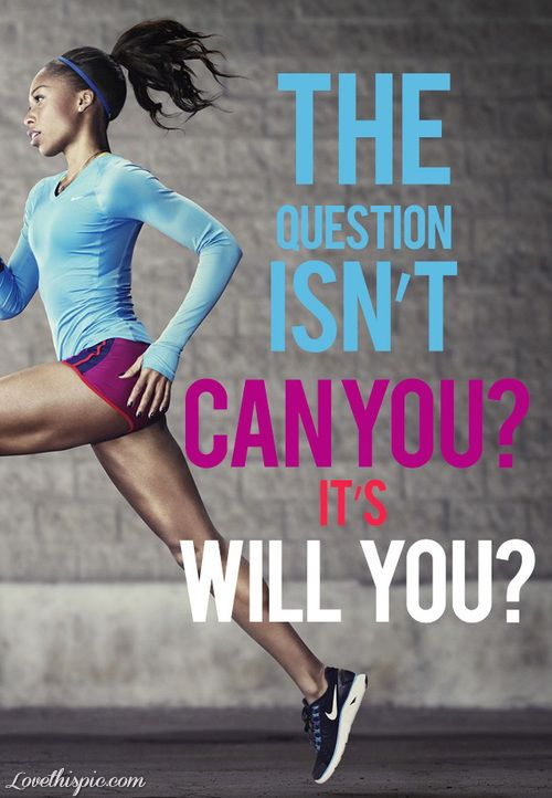 Will You? quotes quote motivational fitness running exercise exercise quote