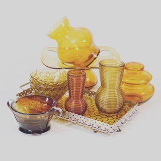 Miodowe nowości na patyna.pl #glass #kitchen #tableware #design #vintage…