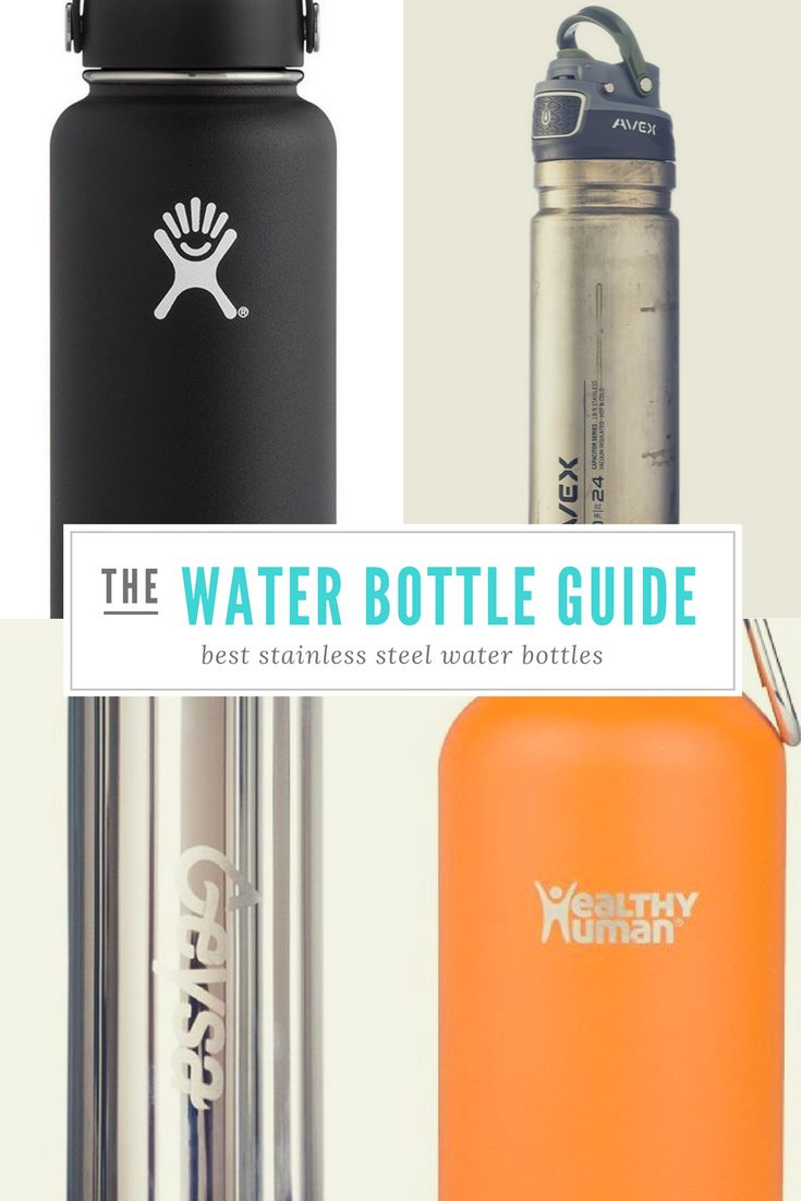 Whether you're into hiking, running or simply walking, find out what is the best stainless steel water bottle for you, in our thorough review.  https://bodydietplan.com/what-is-the-best-stainless-steel-water-bottle/
